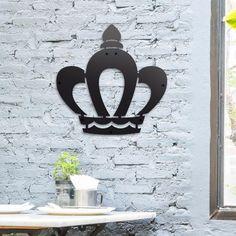 Deccort | King Metal Tablo Symbols, Letters, King, Metal, Poster, Art, Craft Art, Icons, Letter