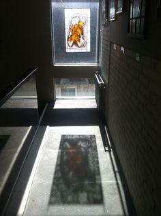 reflectie van Eroticaraam van Tieneke van Montfort in museum Ravenstein