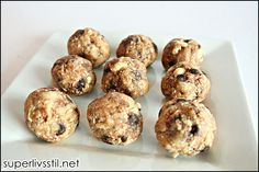 Raw Cookies-pretty good! Go easy on the coconut oil though-I'd add about half next time, as it tends to overpower.