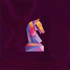 By @kartashev_yuri -   Tag #designarf to featured   #chess #knight #horse #art #logo #icon #illustration #dribbble #vector #behance #brand #identity #logodesign #graphic  #graphicdesign #branding #icondesign #symbol #mark #marks #creative #follow #love #design #designer by instagram.com/designarf