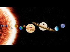 The Solar System Song/The Solar System/Planet Song/Planet song Compilation Solar System Video, Solar System Song, Solar System For Kids, Solar System Projects, Solar System Planets, Earth And Space Science, Earth From Space, Sistema Solar, Planet Song