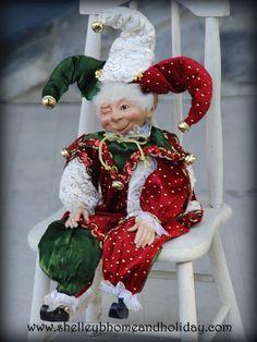 Christmas Jester Elf