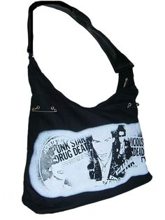 Sale Clearance 40% Off Dead Threads Sid Vicious Punk Bag BIG SALE NOW ON AT mouseyessim on ebay