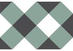 V2-123, carreau ciment géométrique