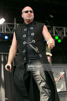 Vocalist David Draiman of Device performs onstage during 2013 Rock On The Range at Columbus Crew Stadium on May 19, 2013 in Columbus, Ohio.