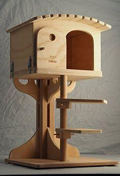Casa para gatos lodge ontario casas gatos pinterest - Casas para gatos de madera ...