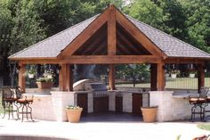 If I build a spectacular outdoor kitchen...I may never have to go in the house.