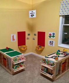 IKEA products for your home daycare, – kids playroom ideas Trofast Ikea, Dorm Room Storage, Storage Organization, Storage Ideas, Wall Storage, Kids Storage, Nursery Organization, Storage Cabinets, Ikea Toy Storage