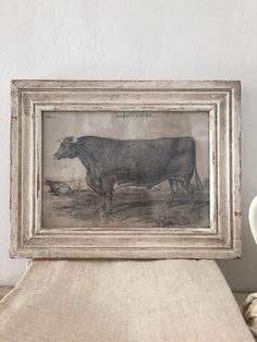Vintage Style Cow Print by 1871Farmhouse on Etsy