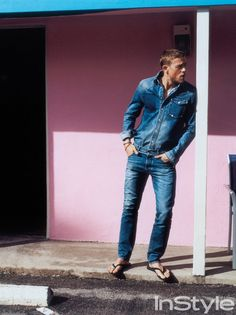 With lead roles in two spring blockbusters, English actor Charlie Hunnam is the hottest guy in Hollywood.