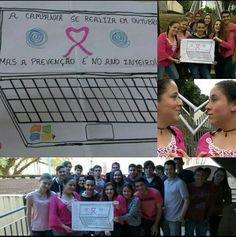 @gincanasenai2015 #GDAIRosa A campanha se realiza em outubro, mas a prevenção é no ano inteiro!