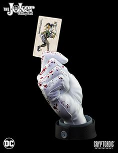 "DC's The Joker Calling Card Statue – ""Bloody Noir"" Edition (Comic-Con Exclusive) | Cryptozoic Entertainment LTD 200 pieces $100.00"