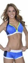 navy/baby blue and white 2 piece (would love it with gold instead of lime green!