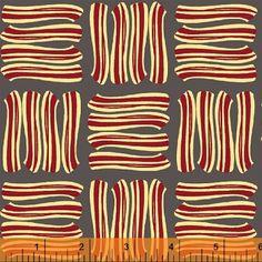 Lily Gonzalez - Farm to Fork - Bacon - Grey : Sew Modern