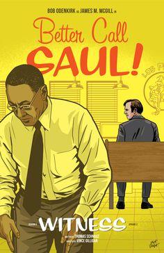 Better Call Saul Season 3 Episode 2 poster by Matt Talbot