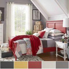 IQ KIDS Preston Full-Sized Wood Panel Headboard bed | Overstock.com Shopping - The Best Deals on Kids' Beds
