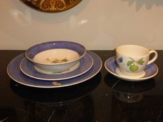 WEDGWOOD SARAH'S GARDEN PLACE DINNER SERVICE SET #WEDGWOOD