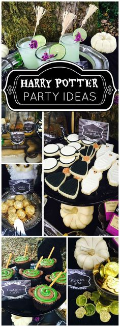 How cool is this Harry Potter and the Deathly Hallows party!  See more party ideas at CatchMyParty.com!
