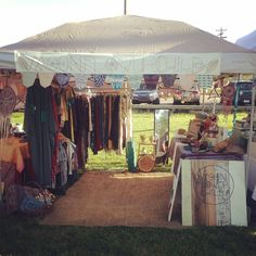 Booth at the Durham craft market #booth #market #bohemian #startup