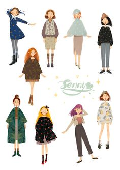Sweet girlYou can find illustration girl and more on our website. Illustration Mignonne, Illustration Noel, People Illustration, Portrait Illustration, Character Illustration, Art Illustrations, Cute Girl Illustration, Website Illustration, Fashion Sketches