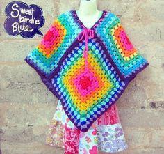 crochet rainbow-had one of these- lol