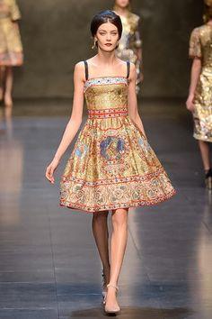 Dolce & Gabbana Milan Fashion Week Fall 2013 #DocleandGabbana #MFW #RTW