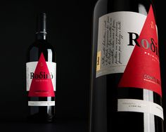 Old and New Meet on Labels for Rodinò Conti Zecca Wine — The Dieline - Branding & Packaging Design