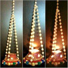 Diwali Sale, Diwali Diya, Diwali Craft, Diwali Gifts, Janamashtami Decoration Ideas, Diy Diwali Decorations, Festival Decorations, Wedding Decorations, Mason Jar Candle Holders