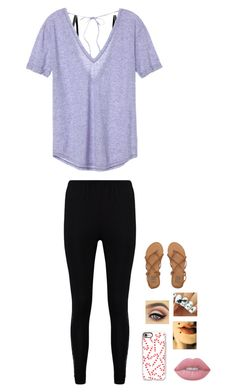 """i'm back poly friends"" by country-and-gods-girl ❤ liked on Polyvore featuring Heidi Klum Intimates, Victoria's Secret, Boohoo, Casetify, Lime Crime and Billabong"