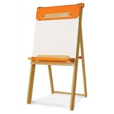 #9: P'kolino Furniture Art Easel, Orange