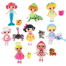 "Mini Lalaloopsy Tales 3 inch Mini-Dolls - 8-Pack **  FYI: (connects to ""toys r us"" so don't click if you don't want to go there -- if ya do, just click your 'back button' to return. cheers! )"