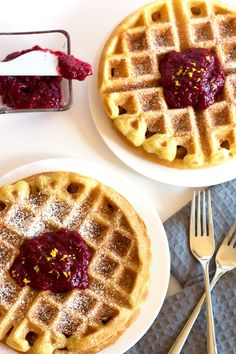 Crispy and crunchy on the outside, soft and fluffy on the inside – these Gluten-Free Buttermilk Waffles are what gluten-free dreams are made of! Top them off with some homemade Raspberry Compote, and you've got a breakfast suitable for a queen (aka MOM!) Every mother's favorite treat: not having to cook. I heard it from...Read More »