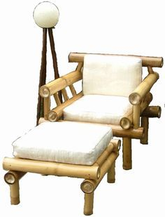 resultado de imagem para decoracin con muebles de bambu