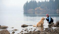 #Wandern #Hund #See #outdoor