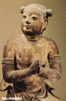 奈良 西大寺 善財童子像 Zendaidoji Saidaiji Temple photo/永野鹿鳴荘