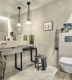 Bathroom tiles: ceramic and porcelain stoneware - Marazzi 7643