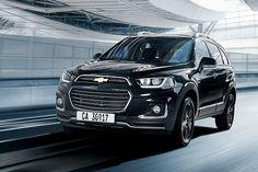 GM、内外装を黒で演出した15台限定の特別仕様車「シボレー キャプティバ パーフェクトブラック」 - Car Watch