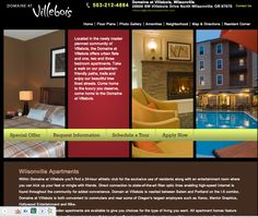 Domaine at Villebois Apartments Website