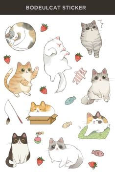 Ideas for cats design illustration animals Cute Cat Drawing, Cute Animal Drawings, Cartoon Drawings, Cute Drawings, Kitten Drawing, Drawing Base, Gato Anime, Cat Doodle, Cat Sketch