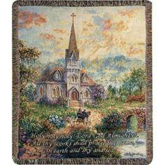 "Walmart Throw Blankets Dawn Of Hope Garden Angel Tapestry Throw Blanket 50"" X 60""  Tapestry"
