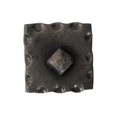 Artesano Iron Works [AIW 2041 SB] Wrought Iron Cabinet Knob   Scalloped