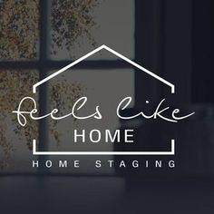 homedecor logo home logo Projekt logo Home Staging - FeelsLikeHome. Graphisches Design, Design Hotel, Creative Design, House Design, Restaurant Logo, Hotel Logo, Home Staging, Arquitectura Logo, Logos Online