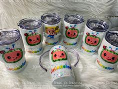 2nd Birthday Party For Girl, 1st Birthday Party Decorations, Second Birthday Ideas, Kids Tumbler, Tumbler Cups, Bf Gifts, Glitter Cups, Custom Tumblers, First Birthdays