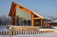 Model Flagman – Modern Finnish Wooden house