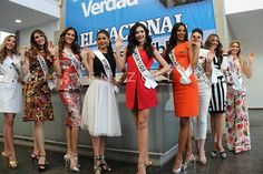 Miss Venezuela 2016 contestants Media Tour