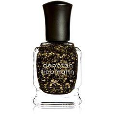 Deborah Lippmann Glitter Nail Colour ($21) ❤ liked on Polyvore featuring beauty products, nail care, nail polish, deborah lippmann, deborah lippmann nail lacquer, deborah lippmann nail color and deborah lippmann nail polish