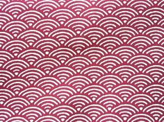Cute Japanese Cotton Fabric-Wave Patterns-1 Yard (F47) by kawaii_fabric_and_paper, via Flickr