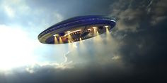 Alien UFO near Earth. Alien UFO saucer flying on a clouds background above Earth , Aliens And Ufos, Ancient Aliens, Nasa, Ufos Are Real, Unidentified Flying Object, Dream Meanings, Flying Saucer, Stavanger, Ufo Sighting