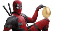 Deadpool 2 Easter Poster Lays a Giant Golden Egg -- Wade Wilson goes all in on a giant golden Easter egg in the latest peek at Deadpool 2. -- http://movieweb.com/deadpool-2-easter-poster/