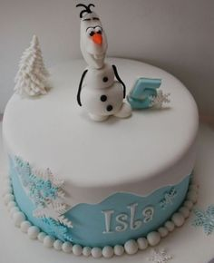 Disney Frozen Olaf Cake Topper